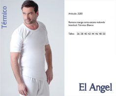 Camiseta m/c termico El angel 3200