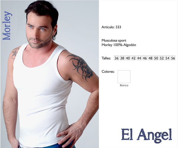 333 Camiseta morley El Angel