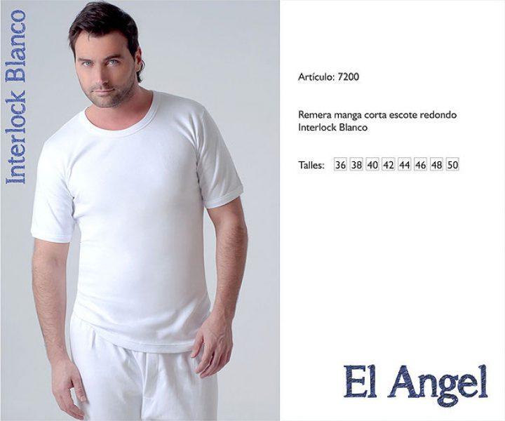 Camiseta manga corta El Angel 7200
