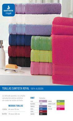 Toallas Santista Royal