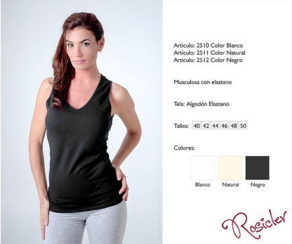 musculosa rosicler